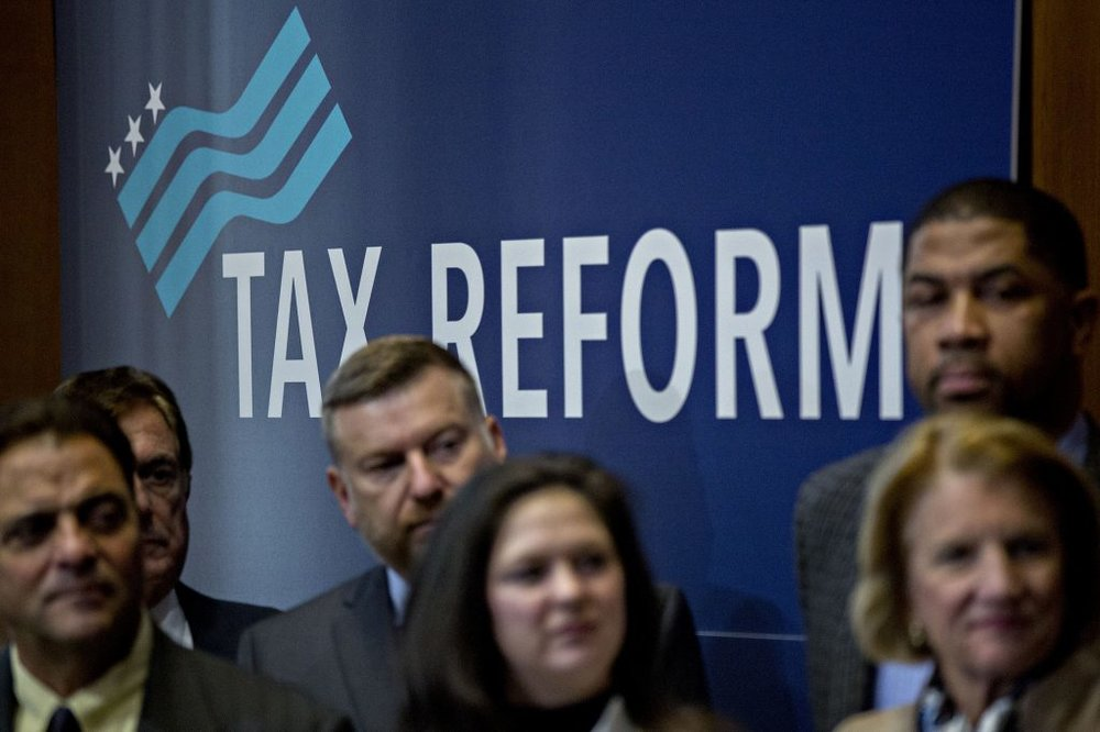 Financial Advisers Told their Clients to Prepare for Impending Tax Reform