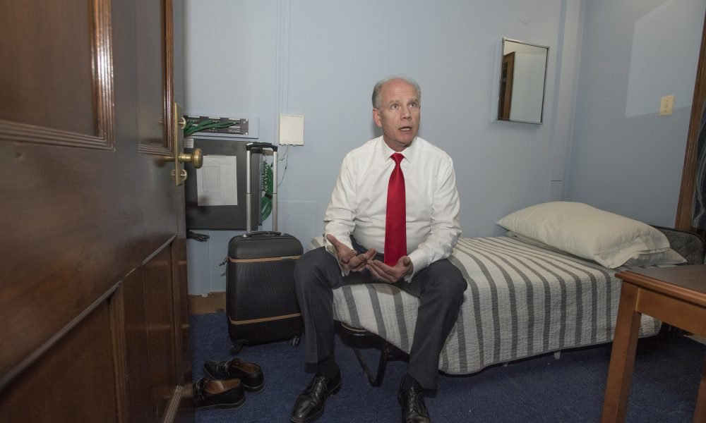 Lawmakers Sleep In Their Offices Because Of High Living