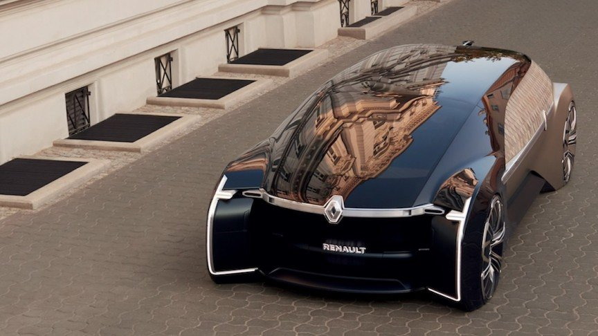 Renault Unveils New Futuristic Car With Luxurious Lounge Interior